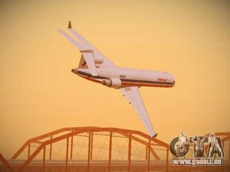 Bombardier CRJ-700 American Eagle pour GTA San Andreas salon