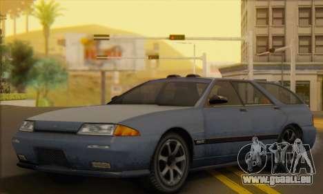 GTA 5 Stratum pour GTA San Andreas vue intérieure