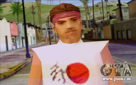 Cuban from GTA Vice City Skin 1 für GTA San Andreas dritten Screenshot