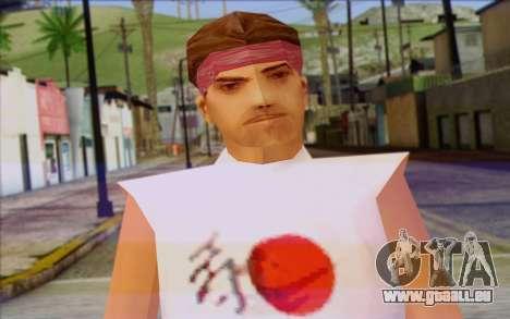 Cuban from GTA Vice City Skin 1 pour GTA San Andreas troisième écran