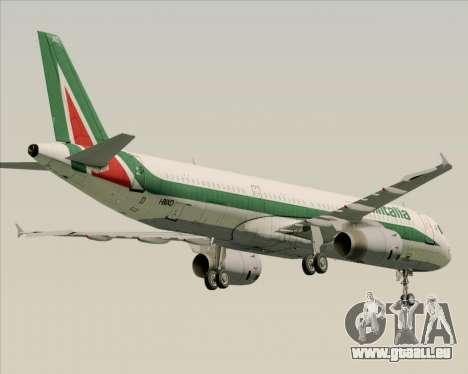 Airbus A321-200 Alitalia pour GTA San Andreas vue arrière