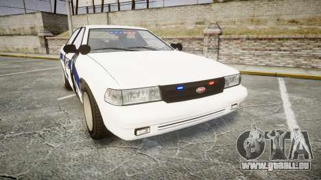 GTA V Vapid Cruiser LP [ELS] Slicktop pour GTA 4