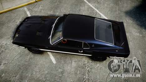 Shelby GT500 428CJ CobraJet 1969 für GTA 4 rechte Ansicht
