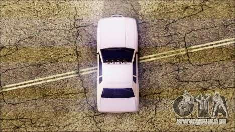 Elegy Drift pour GTA San Andreas sur la vue arrière gauche