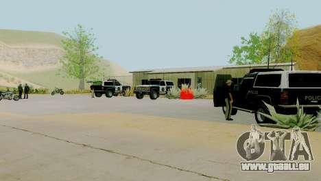 Die Wiederbelebung von allen Polizeistationen für GTA San Andreas zehnten Screenshot