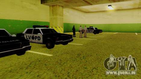 La renaissance de tous les postes de police pour GTA San Andreas