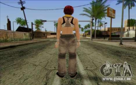 Mila 2Wave from Dead or Alive v16 pour GTA San Andreas deuxième écran