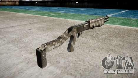 Ружье Franchi SPAS-12 Carbon Fiber für GTA 4 Sekunden Bildschirm