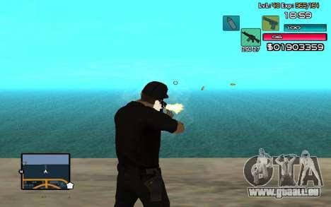 C-HUD by SampHack v.14 pour GTA San Andreas troisième écran