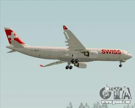 Airbus A330-300X Swiss International Air Lines pour GTA San Andreas vue arrière