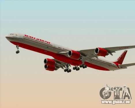 Airbus A340-600 Air India pour GTA San Andreas laissé vue