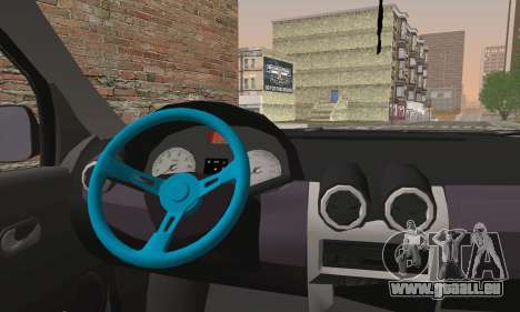 Dacia Logan 1.6 DJ für GTA San Andreas zurück linke Ansicht