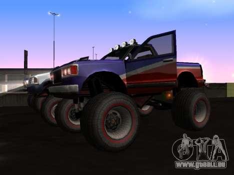 Neue Texturen Monster für GTA San Andreas für GTA San Andreas linke Ansicht