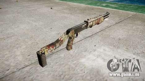 Ружье Franchi SPAS-12 Ronin pour GTA 4 secondes d'écran