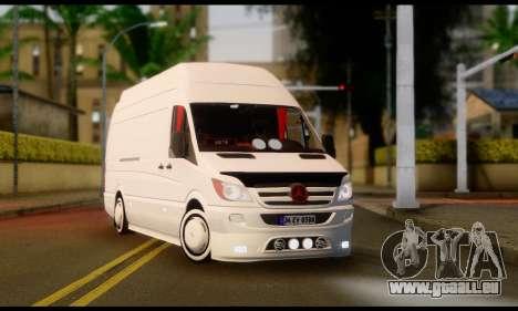 Mercedes-Benz Sprinter Panelvan für GTA San Andreas