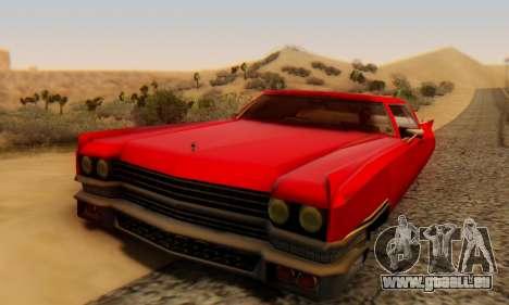 Cadillac Stella II pour GTA San Andreas vue arrière
