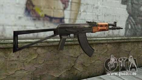 AK-105 pour GTA San Andreas deuxième écran