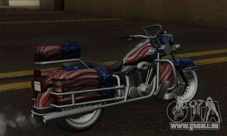 Western Sovereign pour GTA San Andreas sur la vue arrière gauche