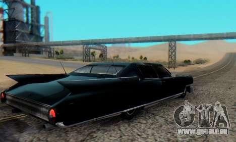Cadillac Stella II pour GTA San Andreas laissé vue