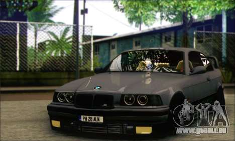 BMW E36 Stanced pour GTA San Andreas
