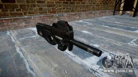 Gun Fabrique Nationale P90 zu vermeiden, wird zu für GTA 4