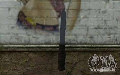 Kampfmesser (DayZ Standalone) v2 für GTA San Andreas