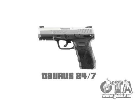 Pistole Taurus 24-7 Titan icon1 für GTA 4 dritte Screenshot