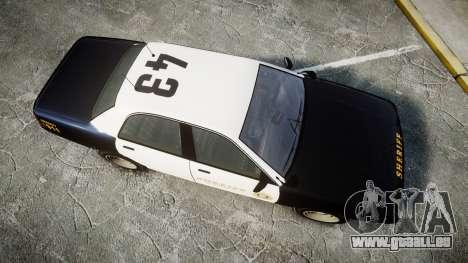 GTA V Vapid Cruiser LSS Black [ELS] Slicktop für GTA 4 rechte Ansicht