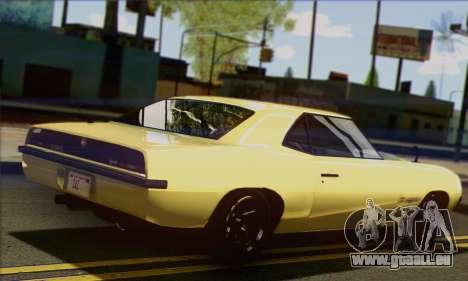 Declasse Vigero V1.1 pour GTA San Andreas laissé vue