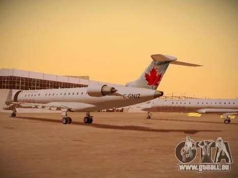 Bombardier CRJ-700 Air Canada Express pour GTA San Andreas vue intérieure