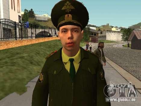 Lieutenant Sokolov pour GTA San Andreas deuxième écran