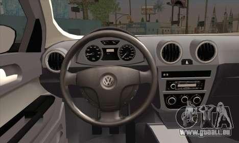 Volkswagen Saveiro Slammed pour GTA San Andreas sur la vue arrière gauche