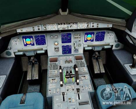 Airbus A321-200 Alitalia für GTA San Andreas Innen