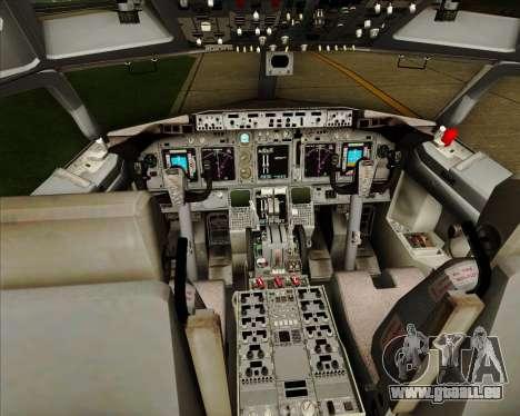 Boeing 737-838 Qantas (Old Colors) pour GTA San Andreas salon