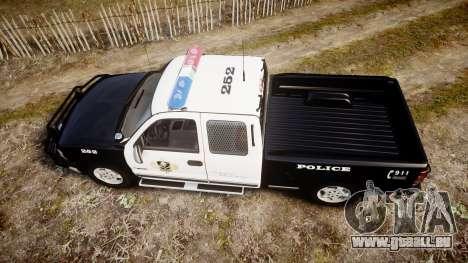 Chevrolet Silverado SWAT [ELS] pour GTA 4 est un droit