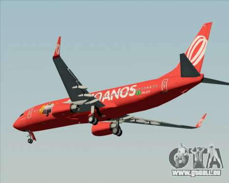 Boeing 737-800 Gol Transportes Aéreos für GTA San Andreas Motor