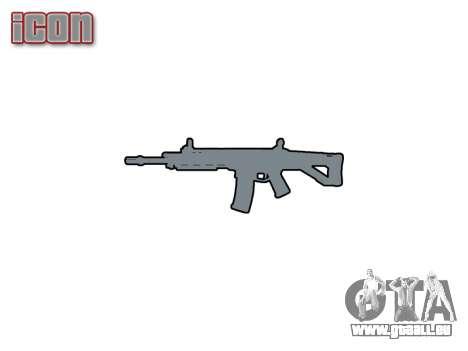 Machine Magpul Masada ACW-R icon1 pour GTA 4 troisième écran
