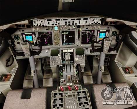 Boeing 737-824 United Airlines für GTA San Andreas Innen