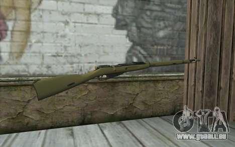 Die Gewehre Mosin-v7 für GTA San Andreas zweiten Screenshot