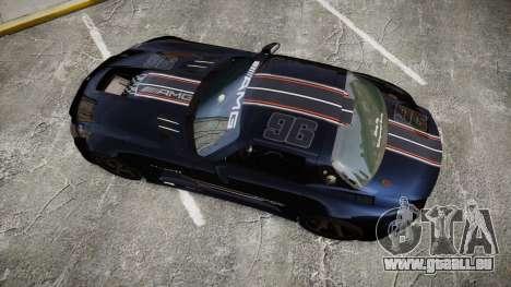 Mercedes-Benz SLS AMG GT-3 high pour GTA 4 est un droit