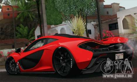 McLaren P1 HQ für GTA San Andreas linke Ansicht