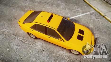 Karin Sultan Taxi für GTA 4 rechte Ansicht