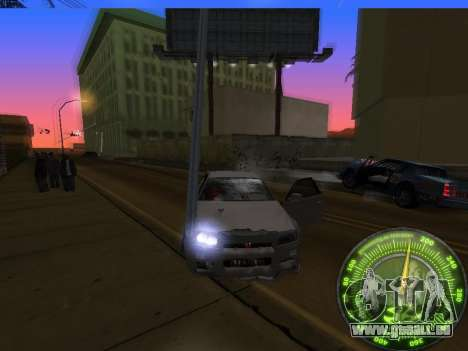 Tacho HITMAN für GTA San Andreas siebten Screenshot