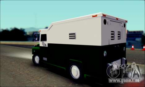 Shubert Armored Van from Mafia 2 für GTA San Andreas linke Ansicht