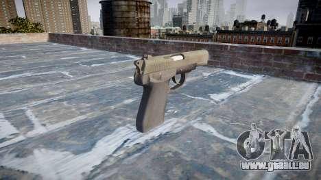 Pistolet QSZ-92 pour GTA 4 secondes d'écran