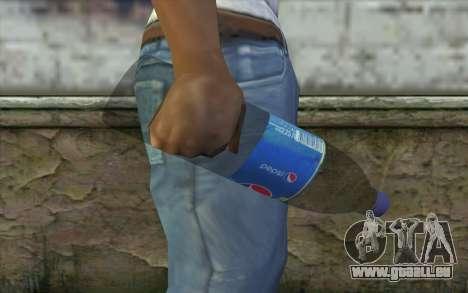 Nucléaire Pepsi pour GTA San Andreas troisième écran