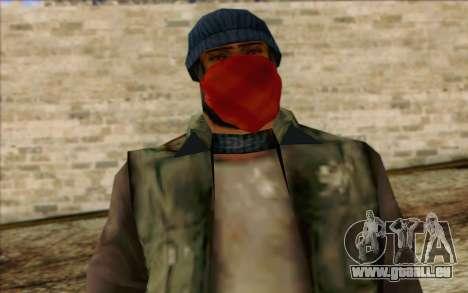 Vagabonds Skin 1 pour GTA San Andreas troisième écran