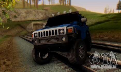 Hummer H6 Sut Pickup für GTA San Andreas linke Ansicht
