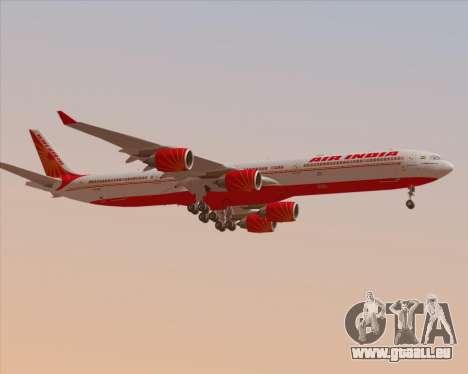 Airbus A340-600 Air India pour GTA San Andreas roue