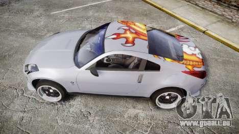 Nissan 350Z EmreAKIN Edition pour GTA 4 est une gauche
